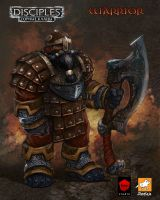 Dwarf-Warrior by EGOR-URSUS