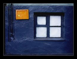 windowall blue by incolorwetrust