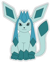 Eeveelution: Glaceon by izka-197