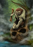Cover Art: The Barbarian by johnbecaro