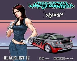 Izzy_A of NFS Most Wanted by pipin