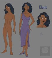 Reference Sheet: Clank by Violette-Aner