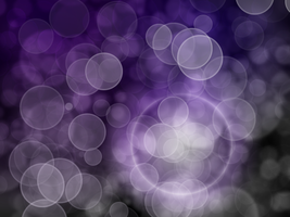Purple Bokeh by winterbright