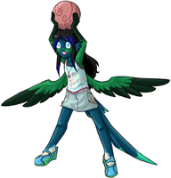 D-corp: Long Tailed Sylph2 by arafel