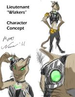 Wizkers - Sketch by RossNewman