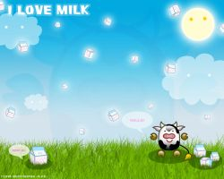 I love Milk 1 by Yao-Yao