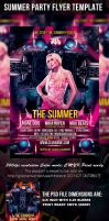 We Start The Summer Party Flyer Template by mihaimcm94