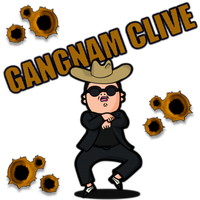 Gangnam Clive by POOTERMAN