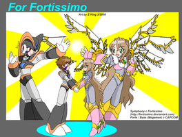 Gift Art for Fortissimo by zkfanart