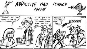 SCIENCE ADDICTION strip one by Cervelet