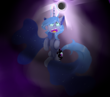 Luna turn into nightmare by mew-vocaloid