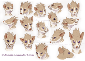 Zosimos Expression Sheet by Avanii