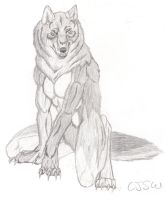 Werewolf by CaptainSparrowsWench