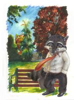Sketchbook Pg7- Weary Rackety by T-Tiger