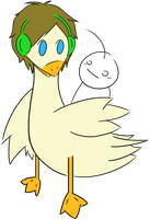 PewDieDuck and Cry by Purebell