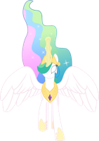 Celestia, God Mode by TheShadowStone