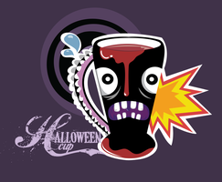 halloween cup ilustration by Lain444