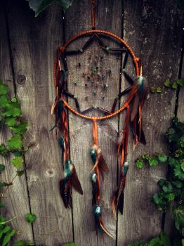 Whiskey Dream Catcher by xsaraphanelia