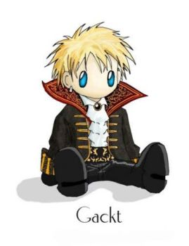 Gackt doll by anthylorrel