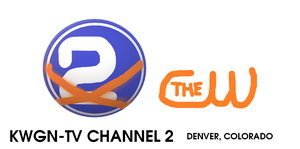 The KWGN-TV Channel 2 Logo from 2009 by MikeEddyAdmirer89