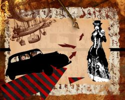 Steampunk Collage by jeorban