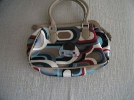 Revamped riceball hand bag by chaobreeder16