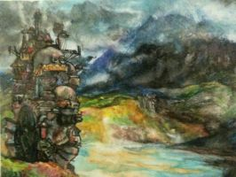 Howls Moving Castle by Soltix