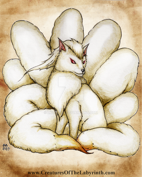 Pokedex Project: Ninetales by lmerlo72