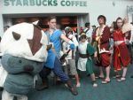 the Starbucks gaang by Lily-P