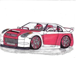 2009 Nismo GTR Z Tune Concept by Mister-Lou