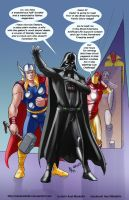 TLIID 238. The Avengers vs Darth Vader by AxelMedellin