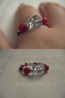 Lovely Heart Red Ring by sampdesigns