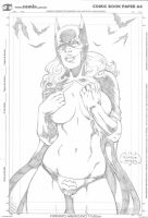 Batwoman by Ricardo Mendes by lab-ideas