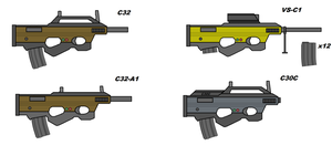 Compact 32 and variants by Artmarcus