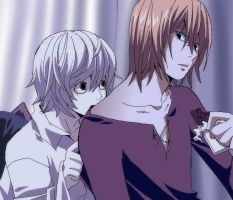 Mello and Near - White Day by KurosakiAkane
