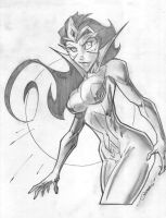 Star Sapphire by Steven Sanchez by integralsmatic