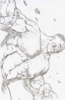 Incredible Hulk by 3PU