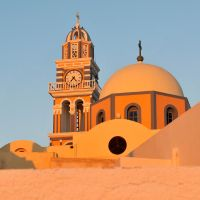 Santorini church 2 by wildplaces