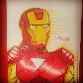 Iron man by Lottarts