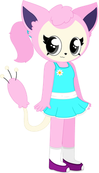 .:Commission:. Juliet the Skitty by Carol2015