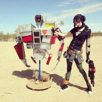 Gaige and Death Trap by ButtercupBrix