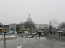 US Capitol In Winter by Flaherty56