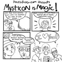 Mysticon is MAGIC part 1 by starlightv