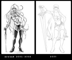 Evolution 2001 or 2 - 2008 by Lelia