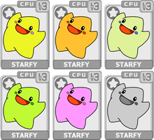 Character Select: Starfy by koopaul