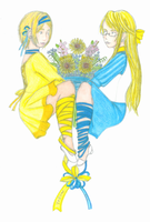 Hetalia: Blue and Yellow by sweetsnow73