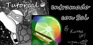 Tutorial: como entramar con Sai (spanish only) by kuki4982