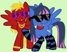 Swaggy Angels by BunnitchRox