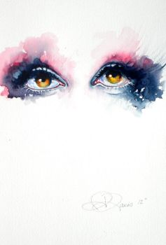Butterfly eyes by india-davis