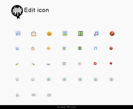 EDIT ICON by qishui